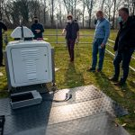 New scanning Doppler wind lidar for Cabauw installed at KNMI, De Bilt