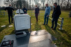 New scanning Doppler wind lidar for Cabauw installed at KNMI, De Bilt