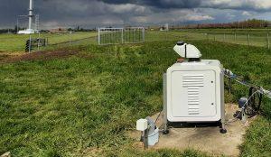 Scanning Doppler wind lidar installed at Cabauw